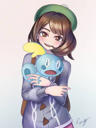 Pokemon Sword and Shield - Female Trainer by RyanSalty