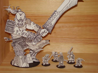 Rune Giant 'Mini' and PCs by WhoDrewThis