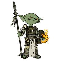 Goblin Druid by WhoDrewThis