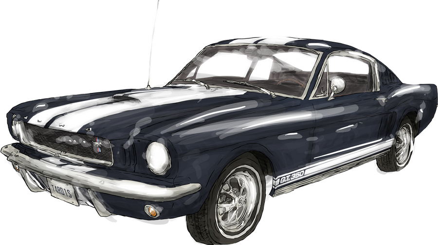 1965 Ford Mustang Fastback By Whodrewthis On Deviantart