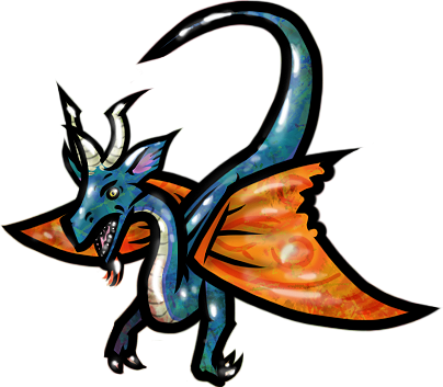 Faerie Dragon by WhoDrewThis