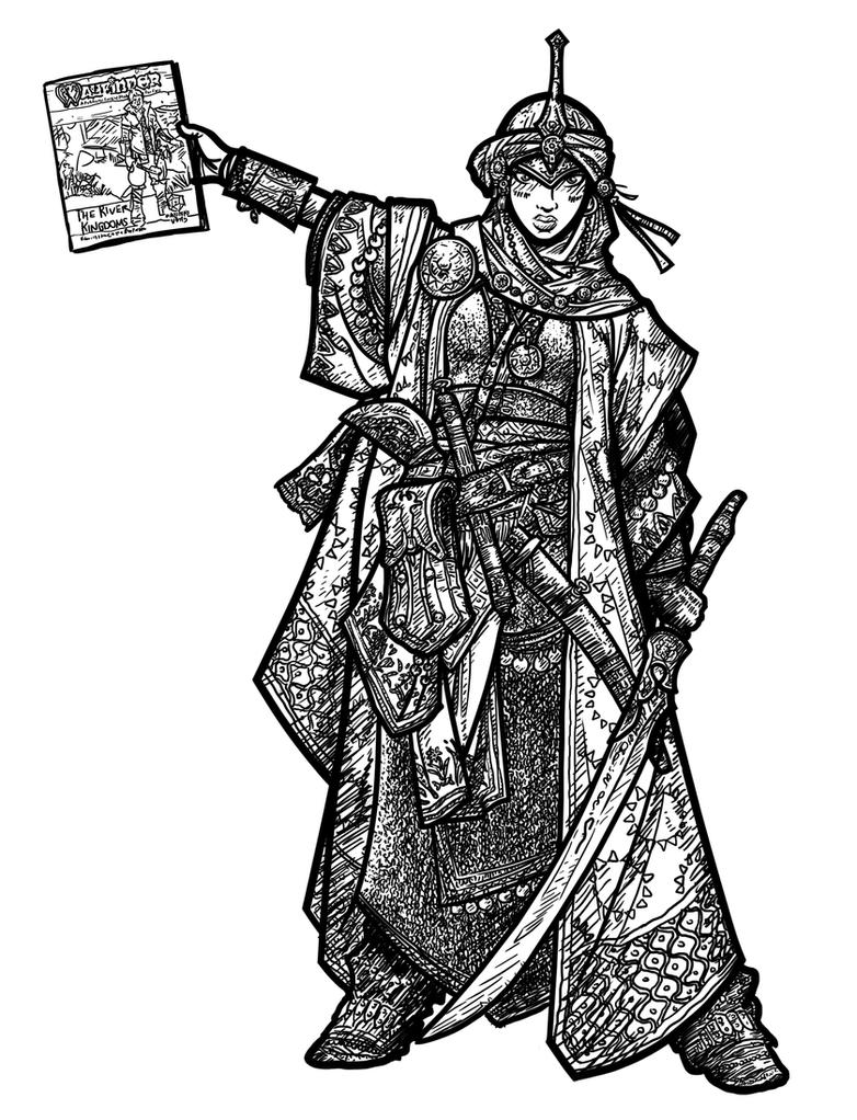 Kyra- Wayfinder by WhoDrewThis