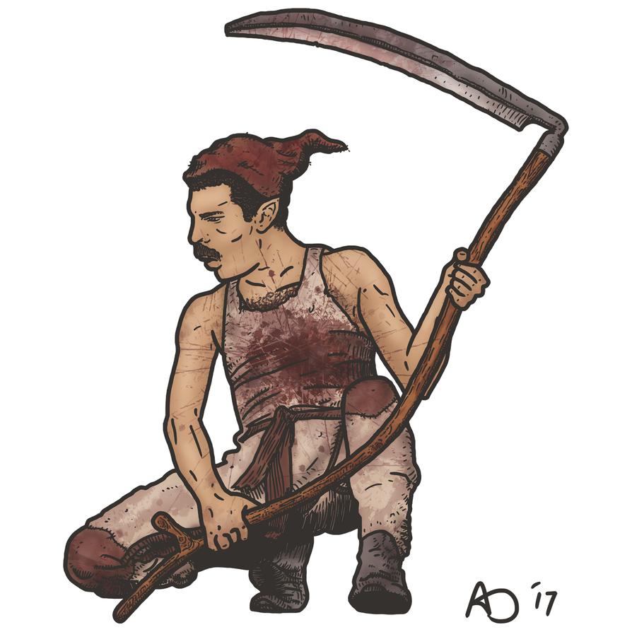 Wayfinder #18- Freddie Redcap by WhoDrewThis