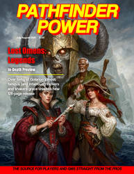 Pathfinder Power- The Lost Omens: Legends Issue