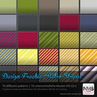 70 Retro Stripe Pattern by Hexe78