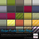 70 Retro Stripe Pattern