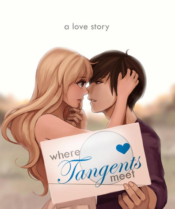 where tangents meet kiss