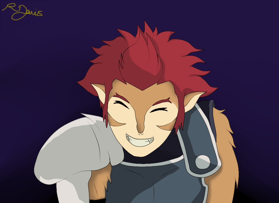Show us your teeth, Lion-O. by 112233Rachy