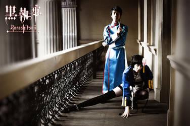 Kuroshitsuji - Lau and Ranmao -01- by mangalphantom