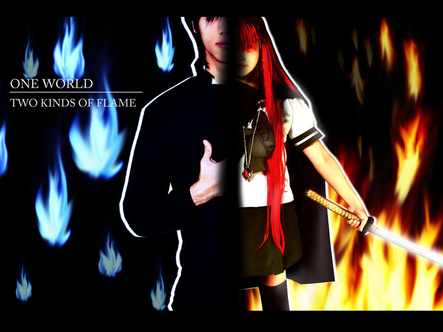 Shakugan No Shana - 01 - The Torch and the Flame by mangalphantom