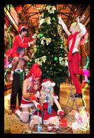 Gurren Lagann Christmas - 02 - Colour of Christmas by mangalphantom