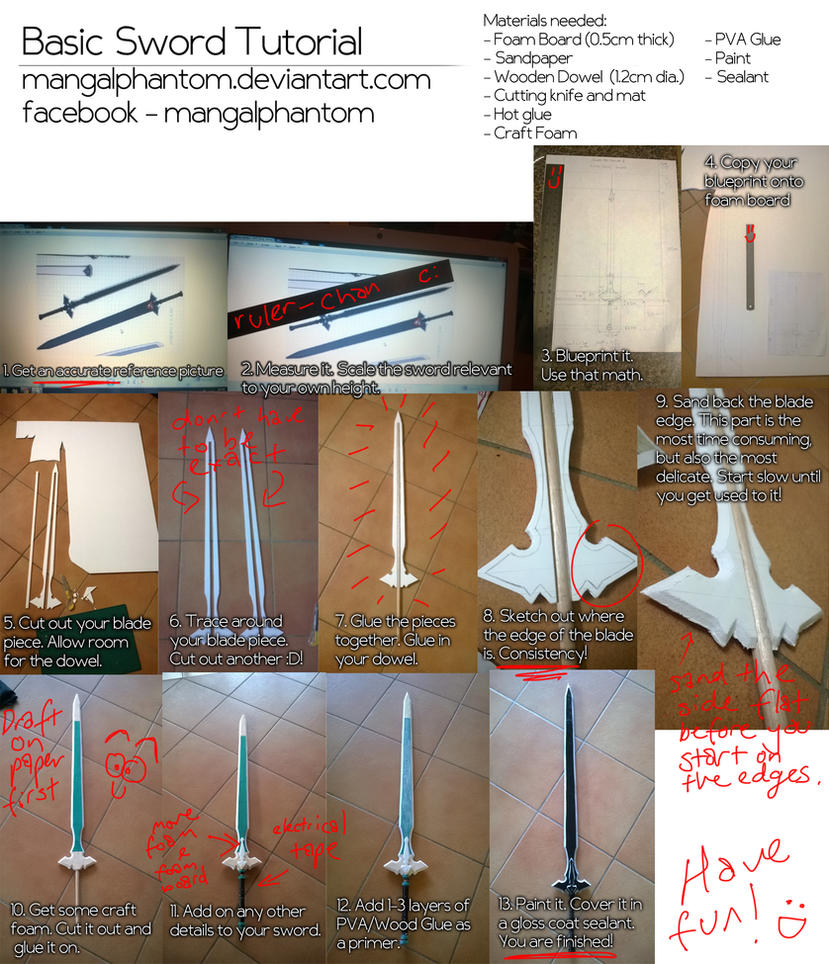 Tutorial - Simple Sword by mangalphantom