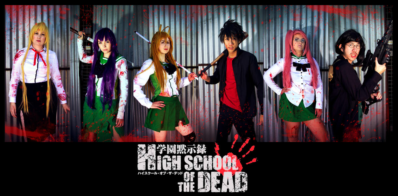 Highschool of the Dead -02- Live On by mangalphantom
