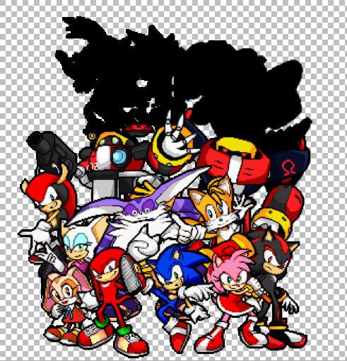 Sonic Advance Pixel Art (W.I.P)