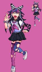 Ibuki Mioda - Danganronpa 2 Pixel Art