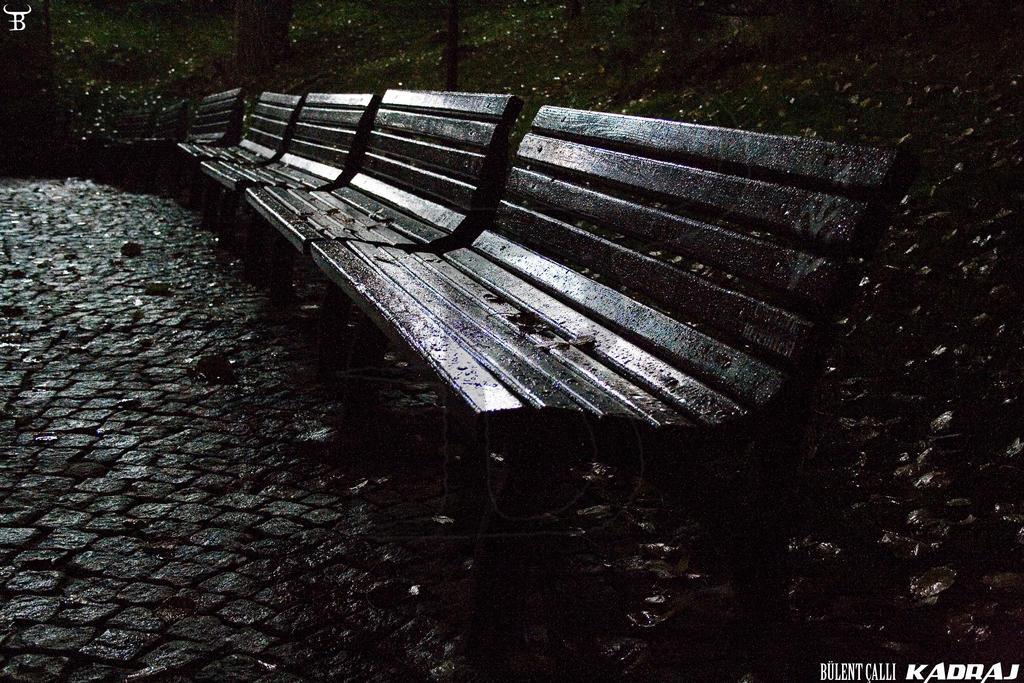 Empty Benches in Kugulu Park Of Ankara by bulentcalli on deviantART