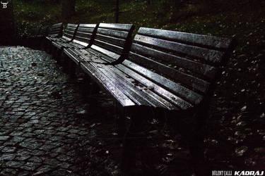Empty Benches in Kugulu Park Of Ankara