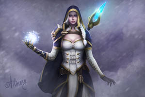 Lady Jaina Proudmoore by Alinery