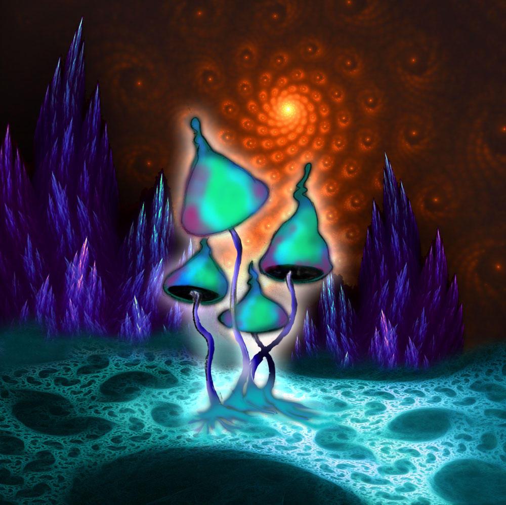 magic mushroom art - photo #25