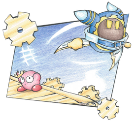 Gourmet Race, but with no food and added Magolor!
