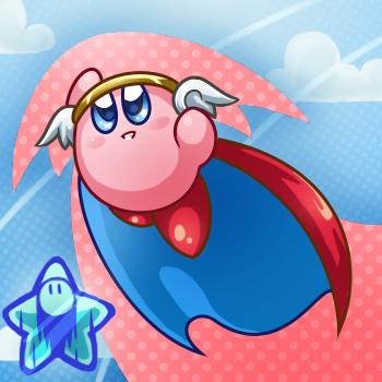 Collab- Hi Jump Kirby! by kirbykawaii2105