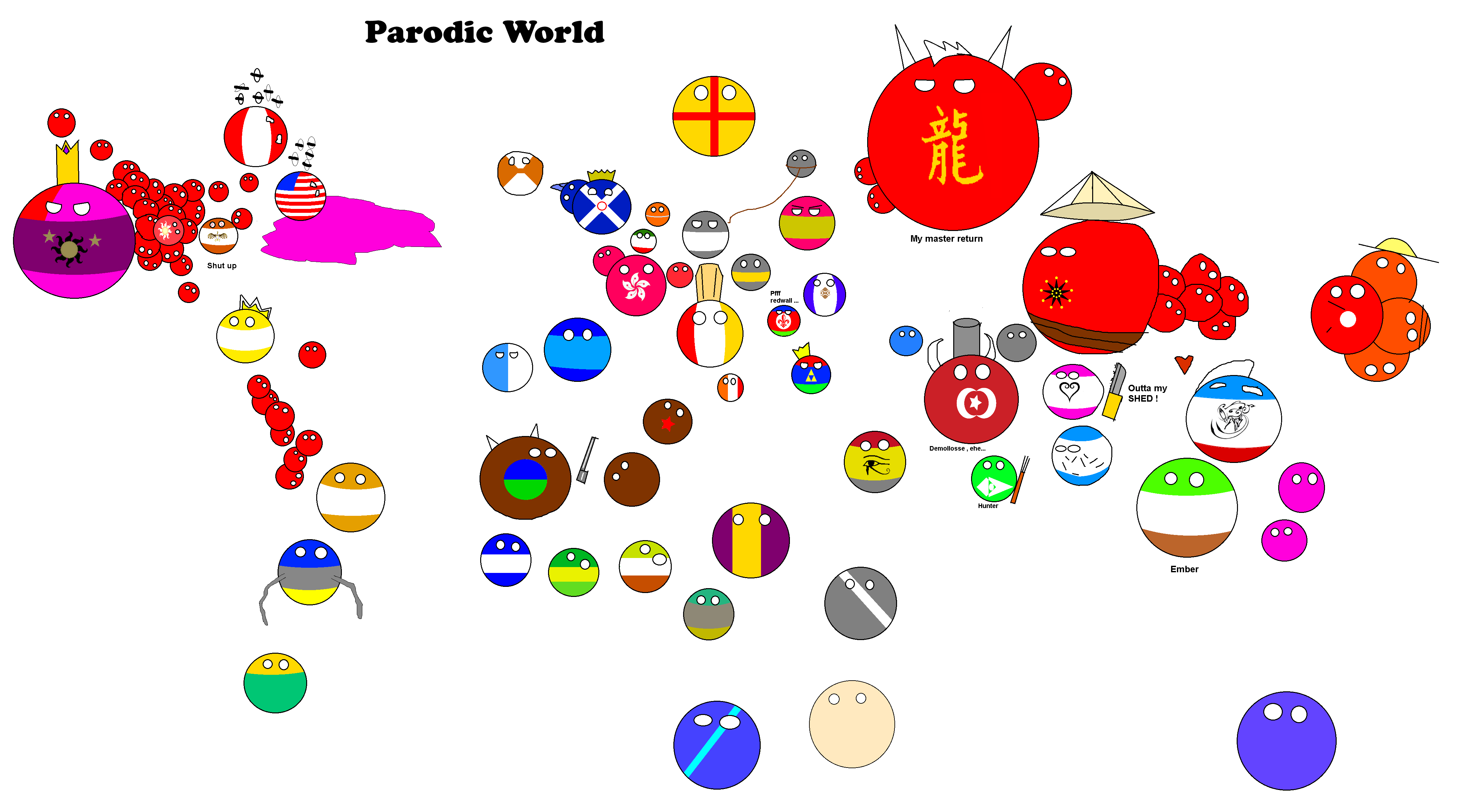World map with all the countriesball by byzance123 on deviantart world map with all the countriesball by byzance123 gumiabroncs Choice Image