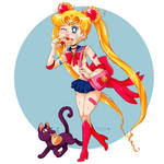 Sailor Moon Quick Donut Stop
