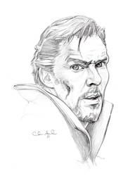 Sketchtember Day 2- Dr. Strange