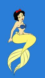 Snow White as Ariel
