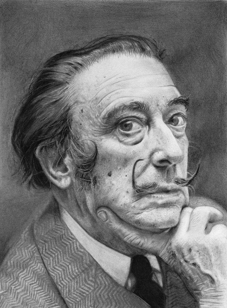 Savador Dali by giacomoburattini