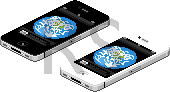 iPhone 4 pixelled by DorifutoRabbit