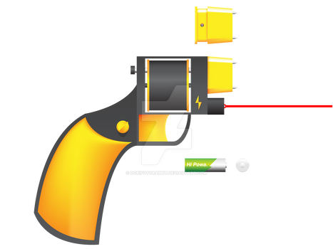 Taser Revolver