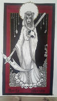 Santa Muerte by Mayanahoney