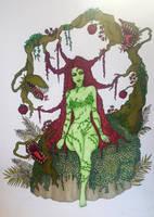 Poison Ivy | Fanart by Mayanahoney