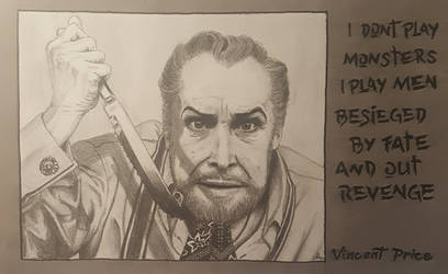 Vincent Price | Fanart | My precious inspiration by Mayanahoney