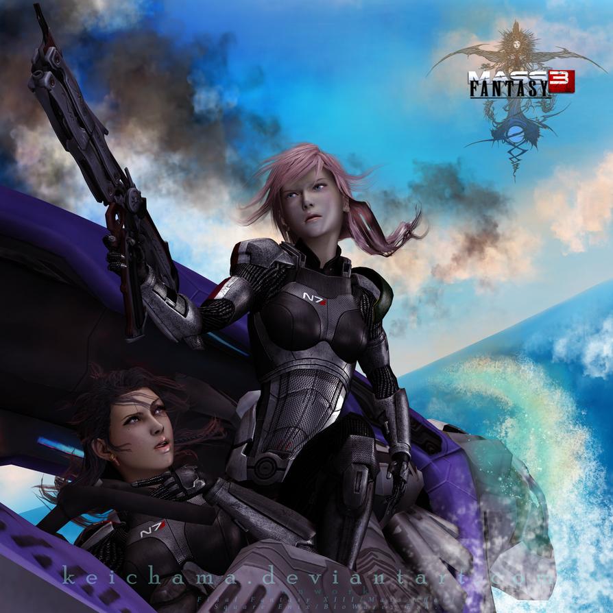 FFXIII : Riders of the blue by keichama