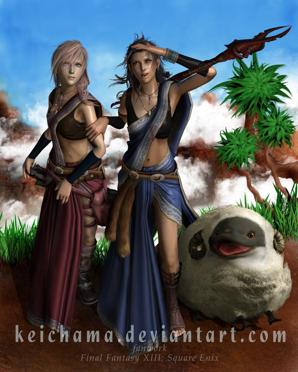 Hunters of Gran Pulse by keichama