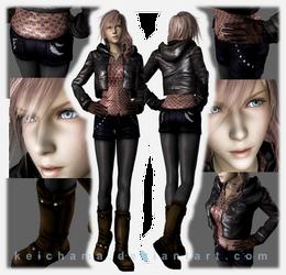 Lightning cassual jacket meshmod by keichama