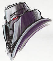 Megatron in markers by just-nuts