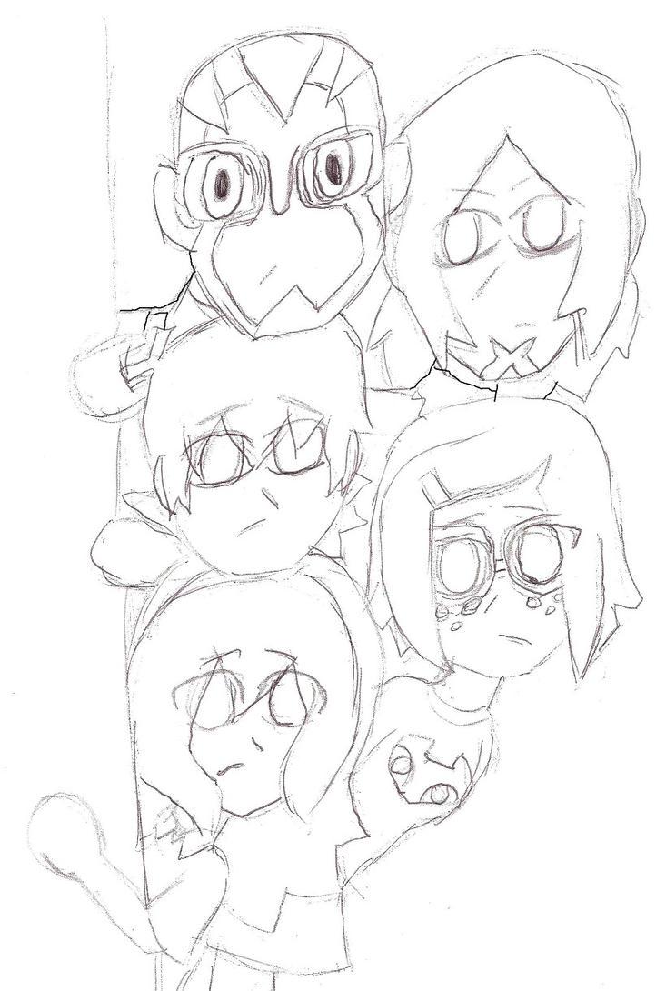 Ben's Team Scooby Stack by MomokoTuHarumaki