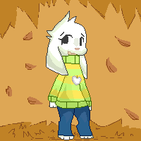 Asriel by Totaporota