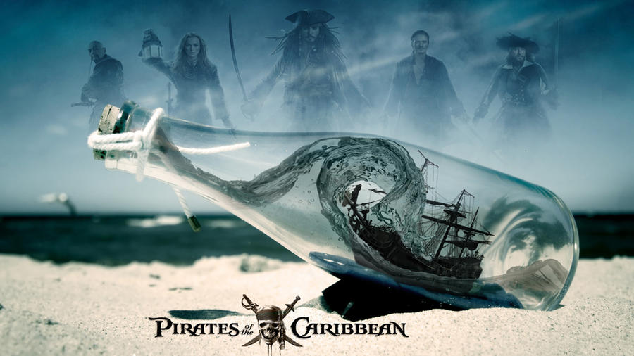Pirates Of The Caribbean By Iluvjonesoda