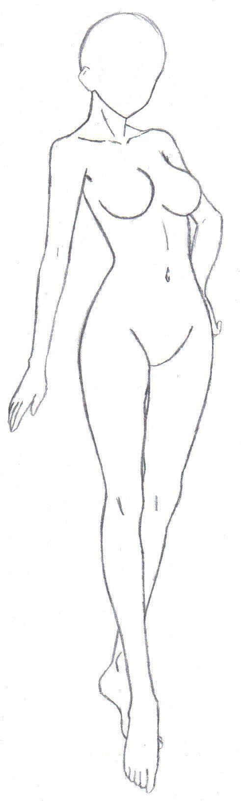 Body Frame 2 by Beta-Type-Jakuri