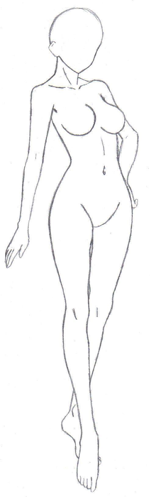 Anime Girl Base Full Body Deviantart  Materi Pelajaran 8