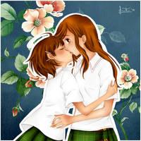 Kiss by HSanti