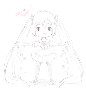 Miku's Flowers