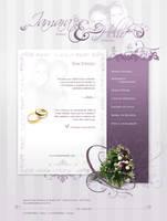 Wedding Website by variant73