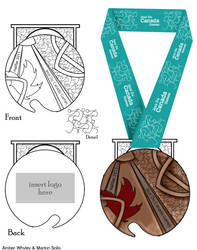 Medal for The Canada Games by Cryptic-nomad