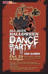Halloween Dance Poster by Cryptic-nomad