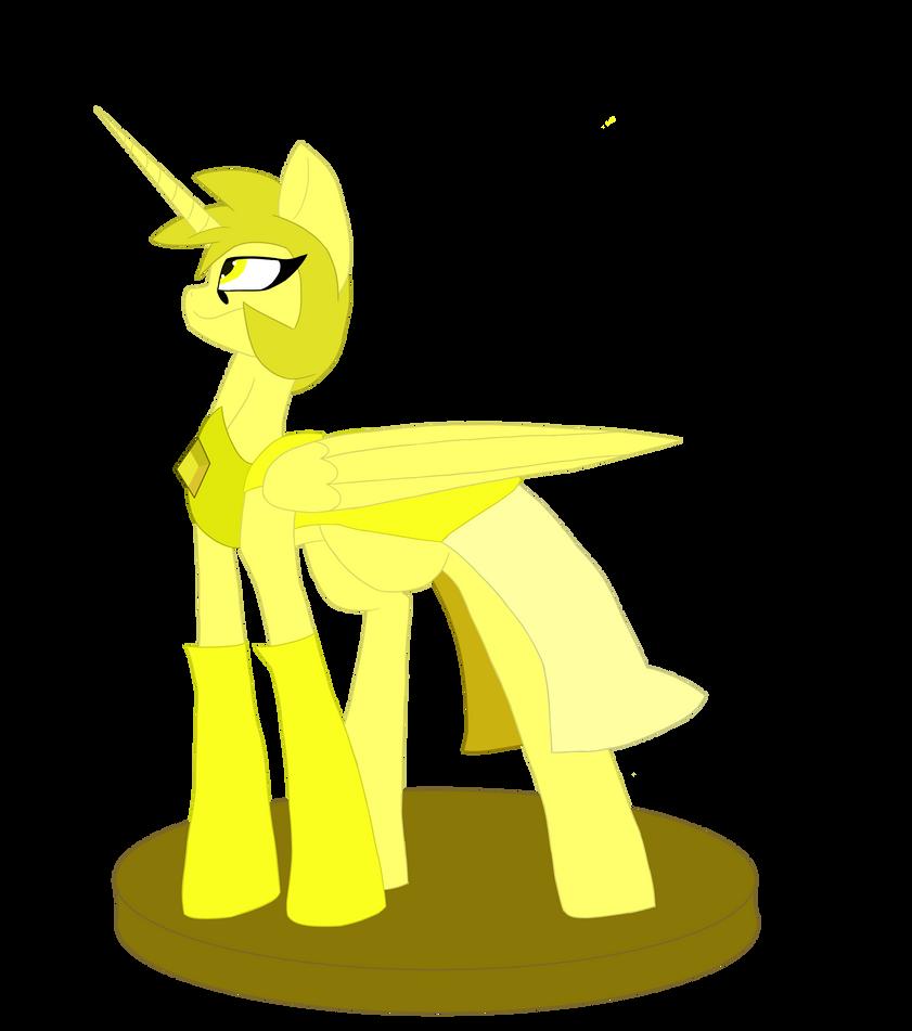 Yellow Diamond by TheElementComic
